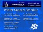 Winter 2013 Concerts