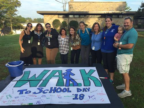 BMPRSS Students Took Part in Walk to School Day