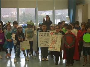 BMPRSS 2nd Graders Put On a Vocabulary Parade!