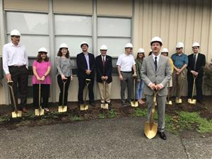 Groundbreaking Ceremony At The B.M.P. Ridge Street School