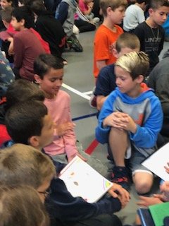 Seventh Grade Students Bring Poetry To RSS Student's Day