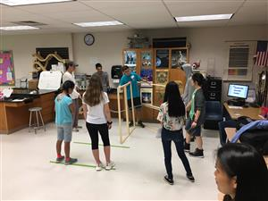 BBHS Juniors Hold A Science Extravaganza For Fifth Graders