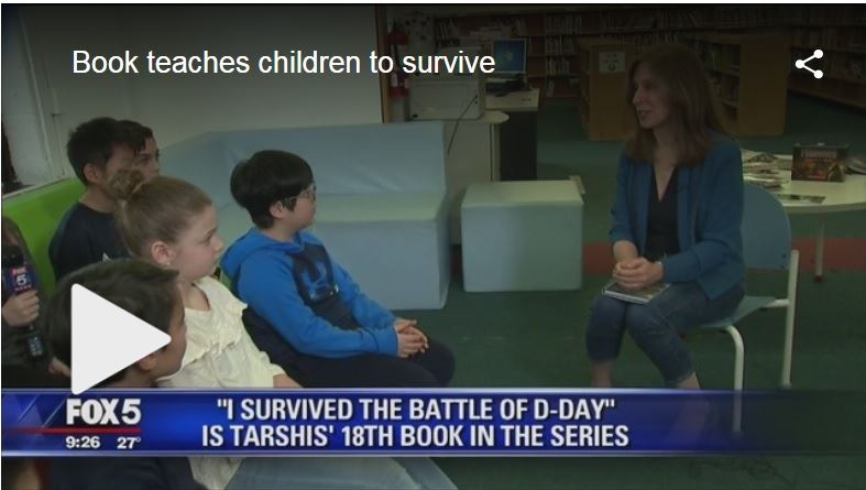 RSS Students Take Part in Talk with Author on Fox 5 News