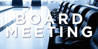 Board of Education Meeting September 22nd @ 7:30 PM  District Goals 2020-2021