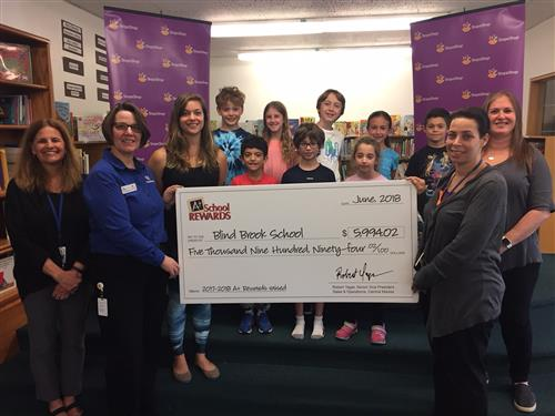 Ridge Street School Earns Most Money In Stop And Shop Rewards Program